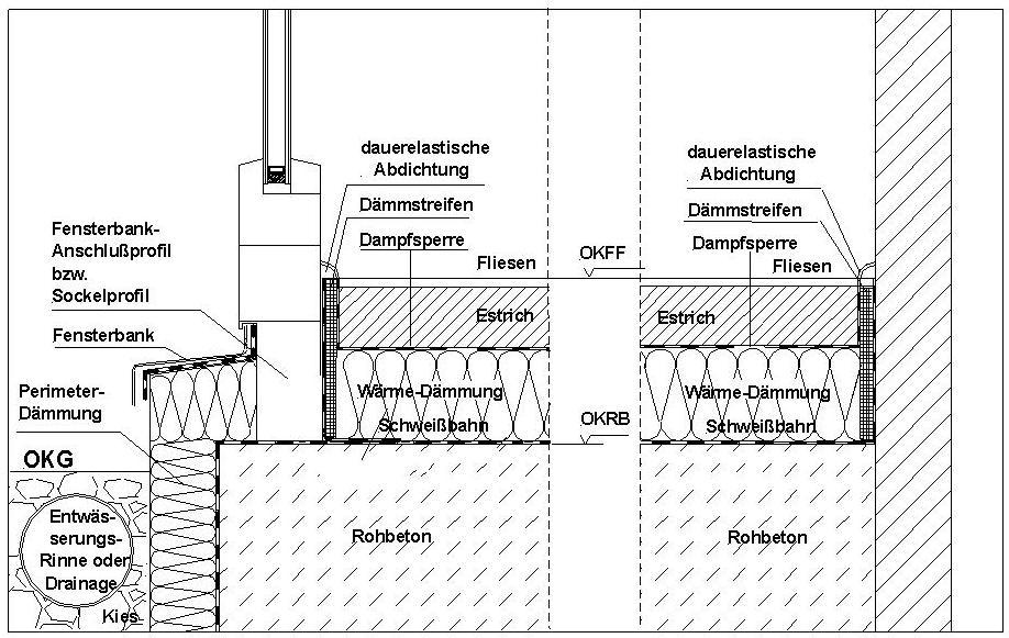 Wintergarten Aus Holz Dämmen ~ Skizze einer möglichen Ausführung für Oberkante Rohbe