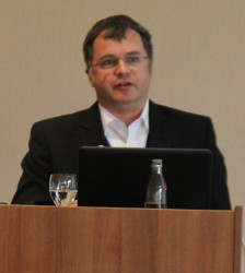 Dipl.-Ing. Rolf Warnke, Mitglied im Fachausschuss Technik des Bundesverband Wintergarten e.V., Jahrestagung 2014, Dresden