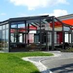 Wintergarten Aluminium Büro