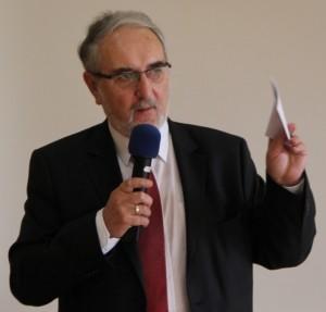 Dr. Steffen Spenke, 1. Vorsitzender des Bundesverband Wintergarten, Jahrestagung 2014, Dresden