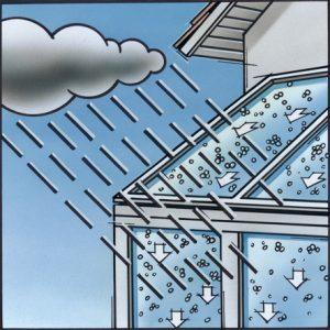 Pilkington Activ Glas Regen