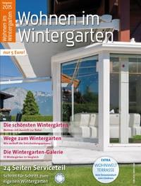 Ratgeber 2015 Wintergärten und Terrassendächer