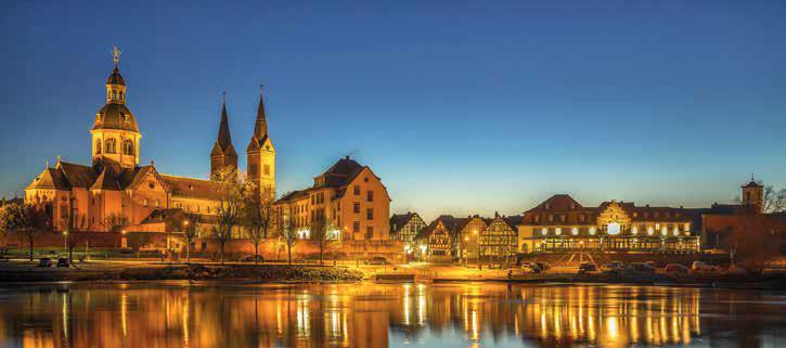 Einhard-Basilika mit mit karolingischer Bausubstanz und Klosteranlage, Wintergartentage 2018, Bundesverband Wintergarten e.V.